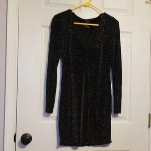 Forever 21 Metallic Dress